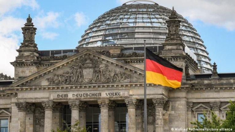 Будівля німецького бундестагу