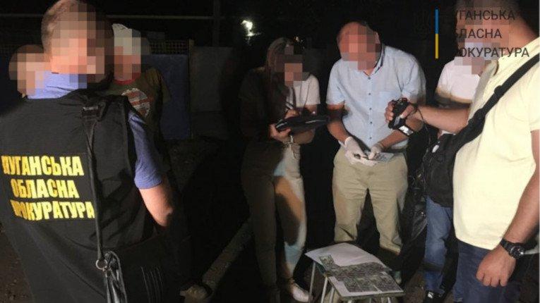 На Луганщині посадовця Держгеокадастру спіймали на хабарі