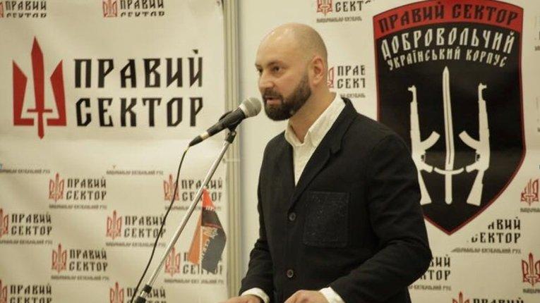 """""""Правий сектор"""" закликає владу не визнавати вибори до """"думи"""" та розірвати дипстосунки з РФ"""