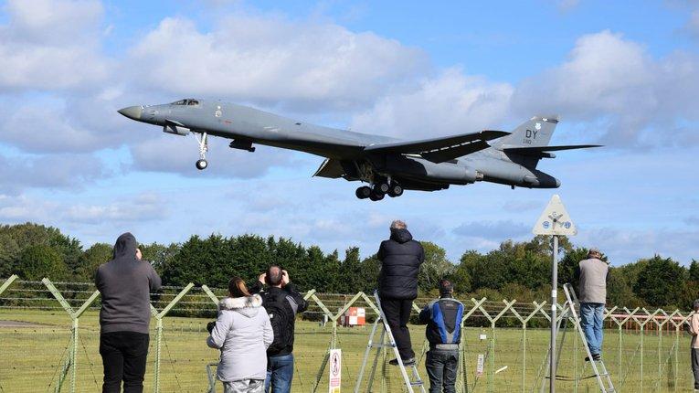 Стратегічні бомбардувальники США охоронятимуть Європу від РФ