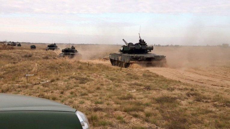 У Миколаївській області проходять навчання морських піхотинців