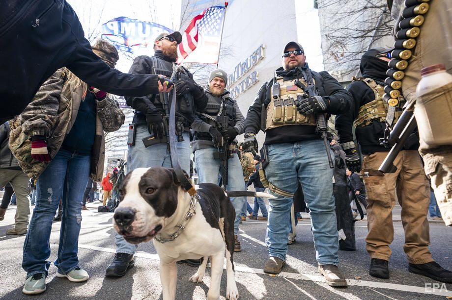 Озброєні та миролюбні. Протести у США | Опінії Останній Бастіон